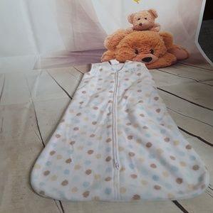 Safe dreams wearable blanket by Halo microfleece S